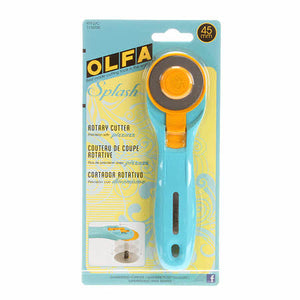 Splash Rotary Cutter 45mm Aqua