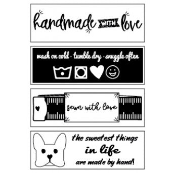 Cute Woven Labels Christopher Thompson Set 1