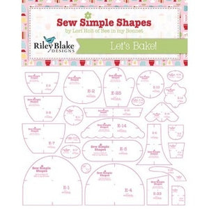 Lori Holt Let's Bake Templates
