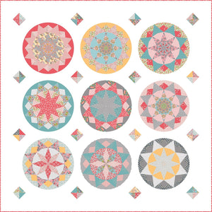 Sundial Quilt Fabric Kit