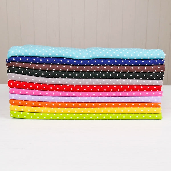 Swiss dots 1 Yard Cut - Colour