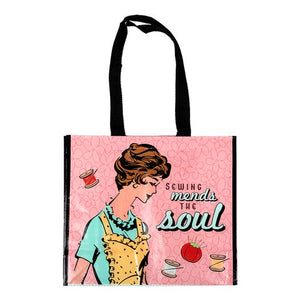 Sewing Mends the Soul Tote