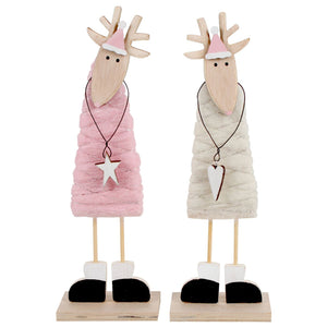 Christmas Wool Reindeer