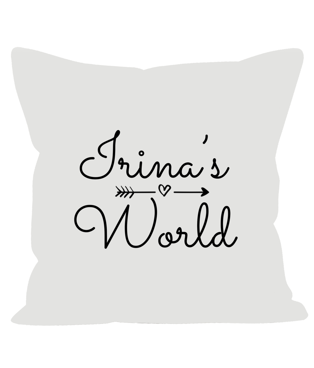 Irina's World Cushion