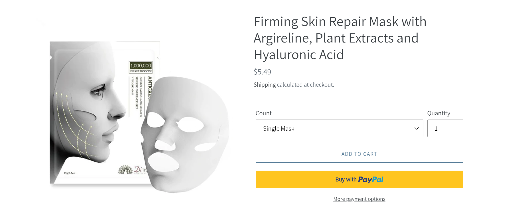 The Mask to Prevent Skin Aging