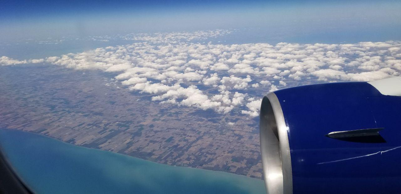 skin aging and long flights
