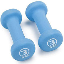 Load image into Gallery viewer, Set of 2 Soft Neoprene Coated Dumbbells - shopnewspa.com