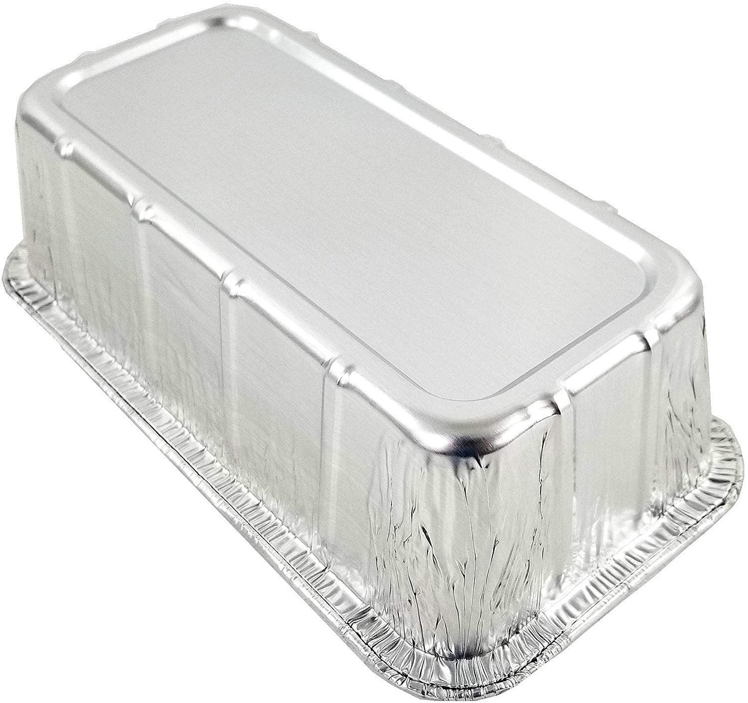 Durable 1 1/2 lb. Aluminum Foil Loaf Pan 500/CS