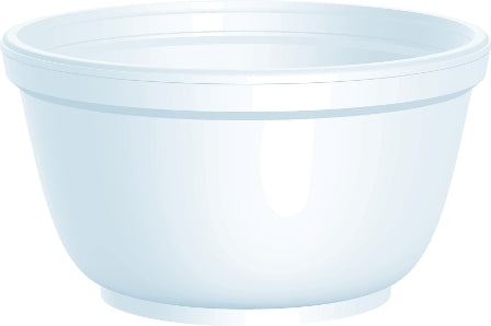 Dart 10B20 Squat Foam Food Container (B-Type) 1000/CS