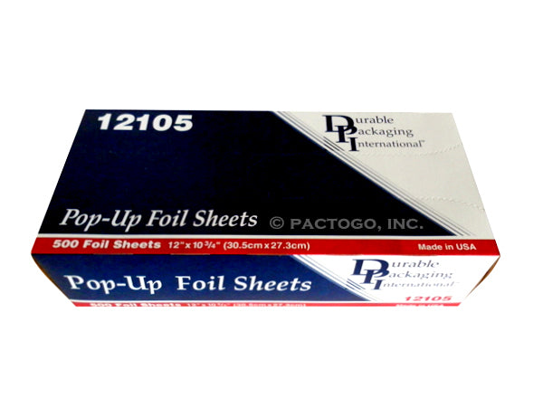 "Durable 12"" x 10.75"" Pop-Up Foil Sheets"