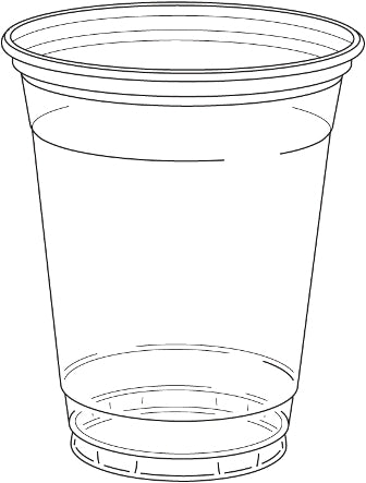 12 oz. Clear Drinking Cup 1000/CS