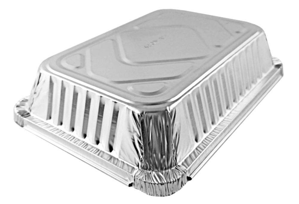 2 lb. Oblong Foil Take-Out Pan w/Dome Lid