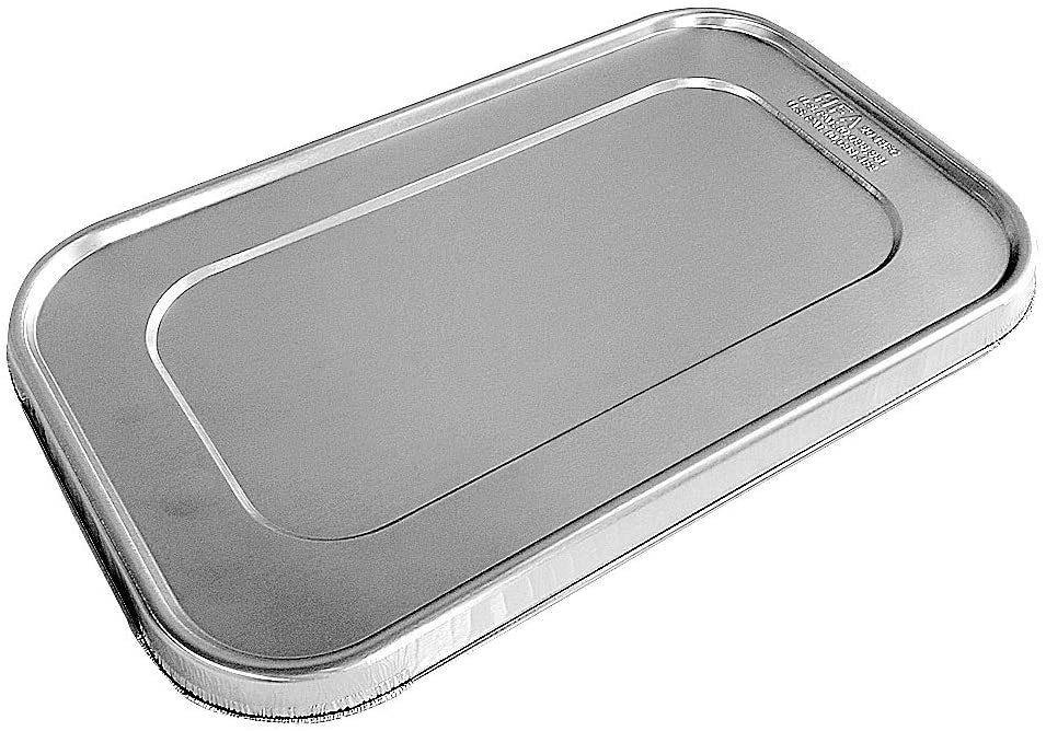 Handi-Foil FC Aluminum Foil Lid For Quarter-Size Steam Pan 200/CS