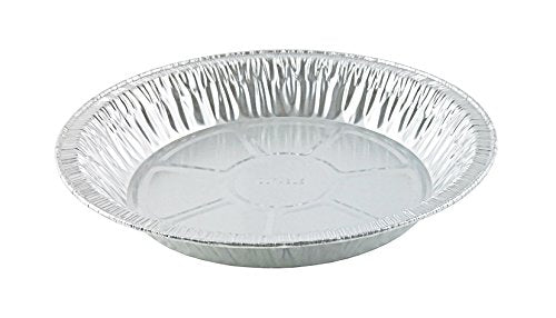 "Durable 9"" Foil Pie Pan 1 5/16"" Deep  500/CS"