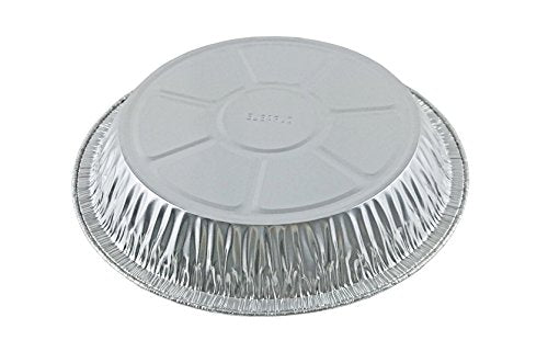 "Durable 9"" Foil Pie Pan 1 5/16"" Deep 50/PK"