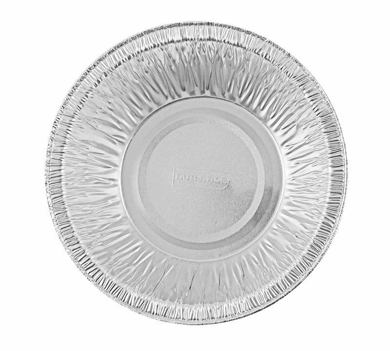 "Durable 4 7/8"" Foil Tart Pan 1 1/4"" Deep 1000/CS"