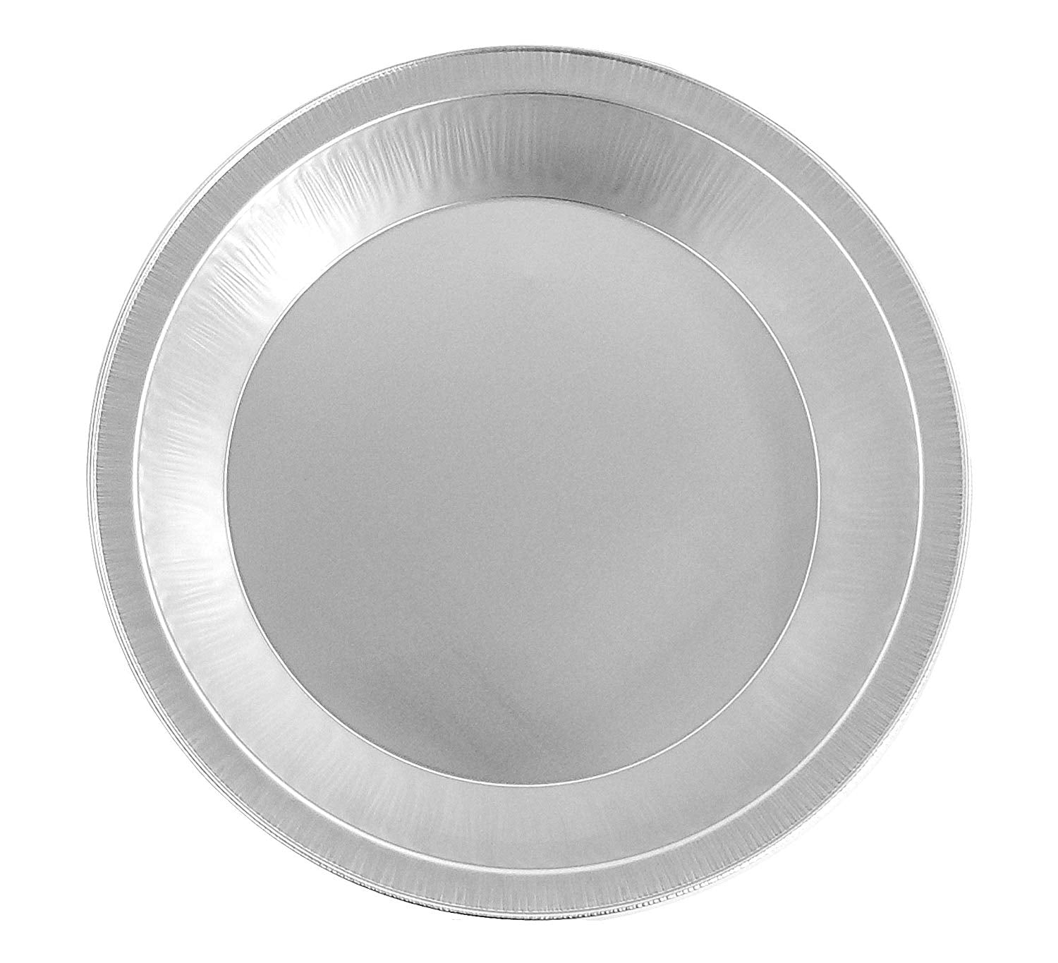 "Handi-Foil 9"" Smooth-Wall Deep Foil Pie Pan 1 3/16"" Deep 200/CS"