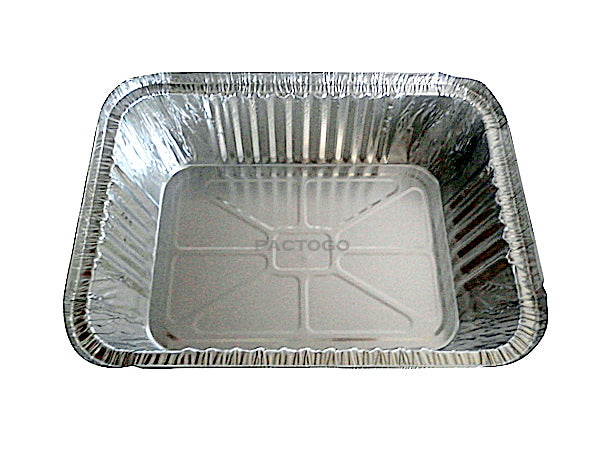 5 lb. Oblong Entrée Foil Take-Out Pan Top