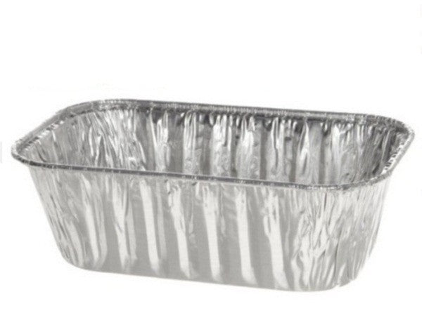 1 lb. Aluminum Foil Mini-Loaf Pan 50/PK