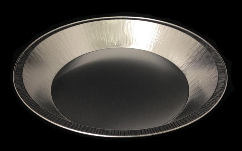 "HFA 9"" Extra-Deep Smooth-Wall Foil Pie Pan"