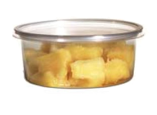 8 oz. Round Deli Clear Container (Base) 500/CS