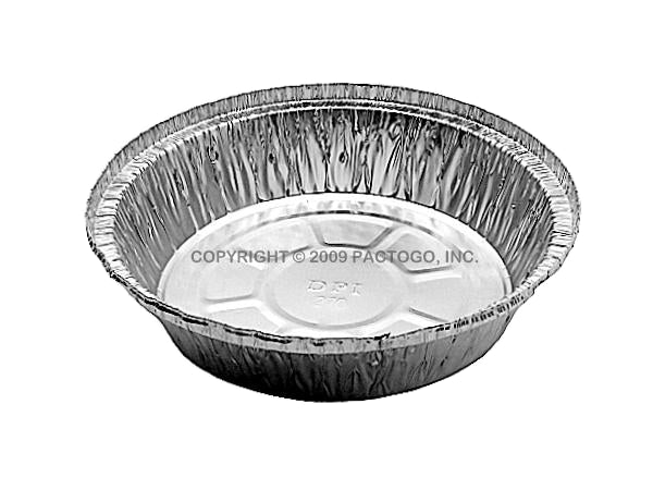 "7"" Round Foil Take-Out Pan"