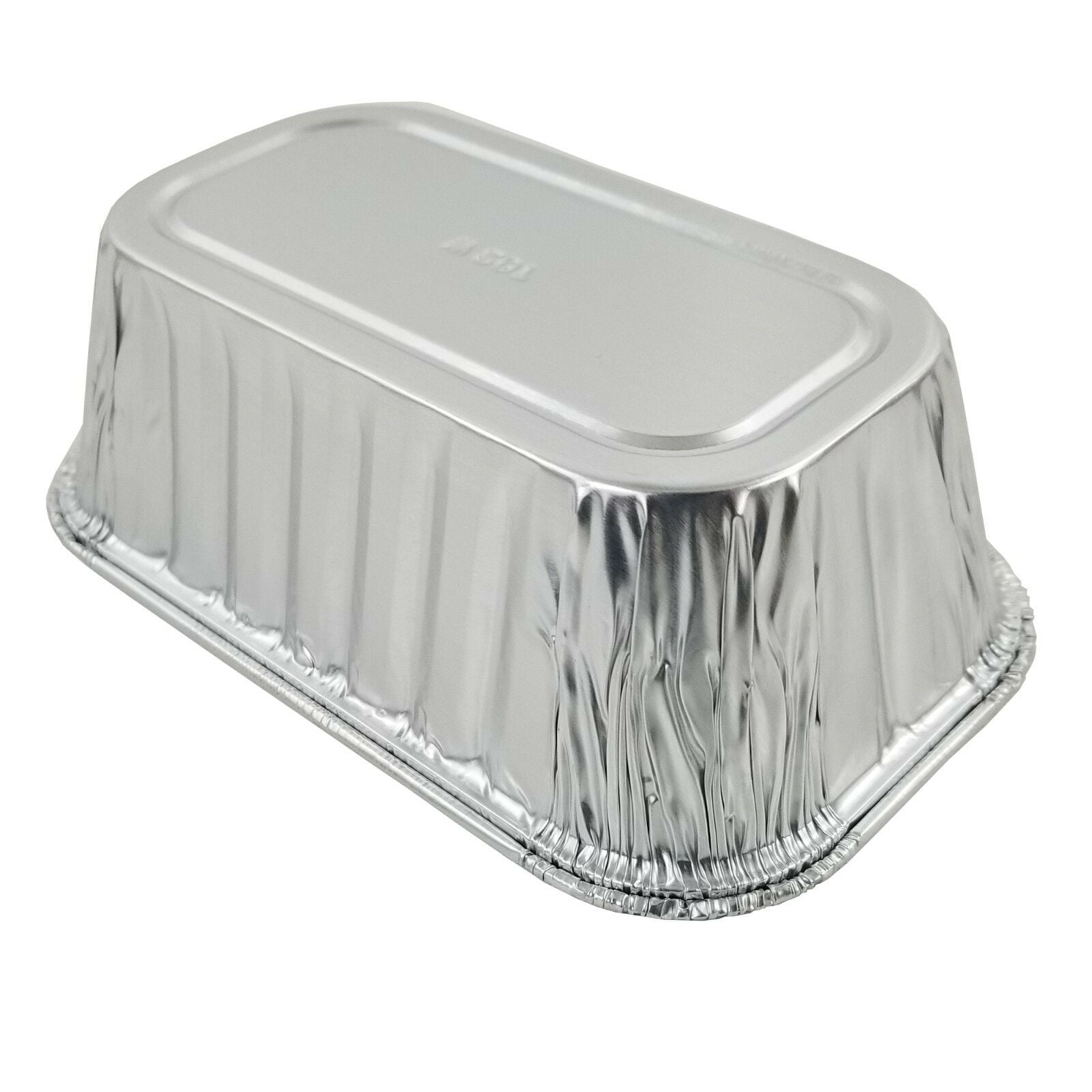 D&W Fine Pack A79 1 lb. Aluminum Foil Mini-Loaf Pan 500/CS