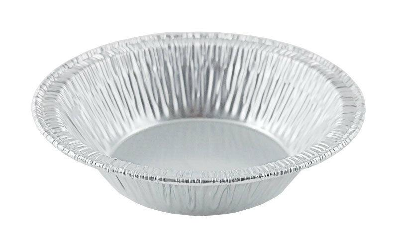 "D&W Fine Pack A90 3 3/8"" Foil Tart Pan 7/8"" Deep 2000/CS"