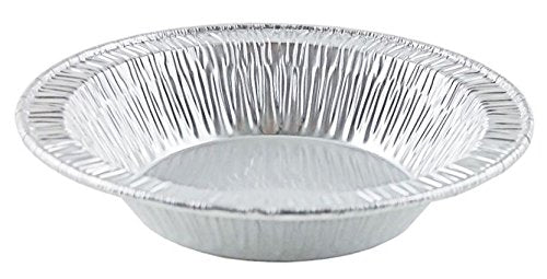 "D&W Fine Pack A96 4 1/4"" Foil Tart Pan 21/32"" Deep 1000/CS"