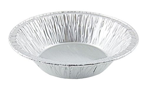 "D&W Fine Pack B18 5"" Deep Pot Pie Foil Pan 1 1/4"" Deep 1000/CS"