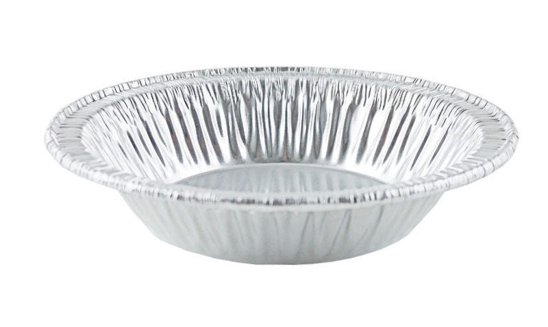 "D&W Fine Pack B10 4 1/4"" Foil Tart Pan 7/8"" Deep 1000/CS"