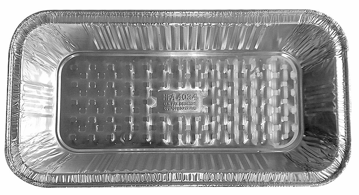Handi-Foil Third-Size Shallow Steam Table Aluminum Foil Pan 50/PK