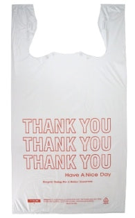 Jumbo T-Shirt Thank-You Bags