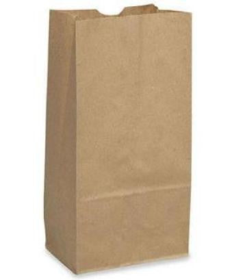 6 lb.  Brown Paper Bag 500/CS