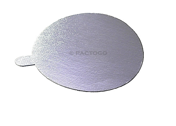 Board Lid For 4 oz.Aluminum  Foil Cup