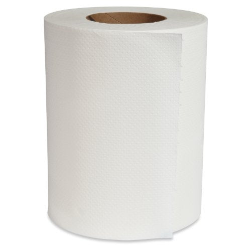 "8"" x 350' White Paper Towel Roll"
