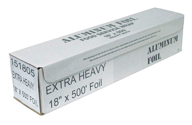 "Durable 18"" x 500' Extra Heavy Duty Aluminum Foil Wrap"