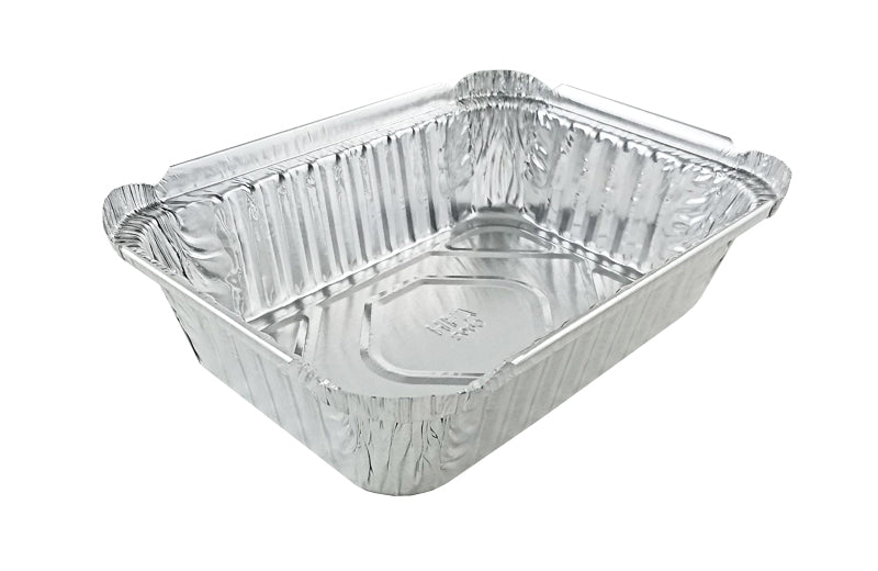 Handi-Foil 1 1/2 lb. Oblong Deep Foil Take-Out Pan