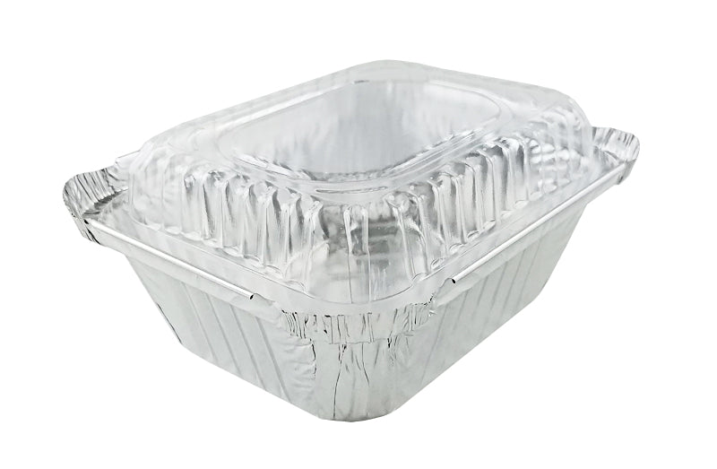 Handi-foil-1-lb-oblong-take-out-pan-w-dome-lid