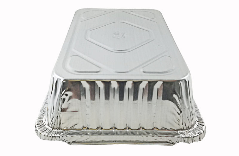 Handi-foil-2-1-4-oblong-foil-take-out-pan-bottom-1 / 2