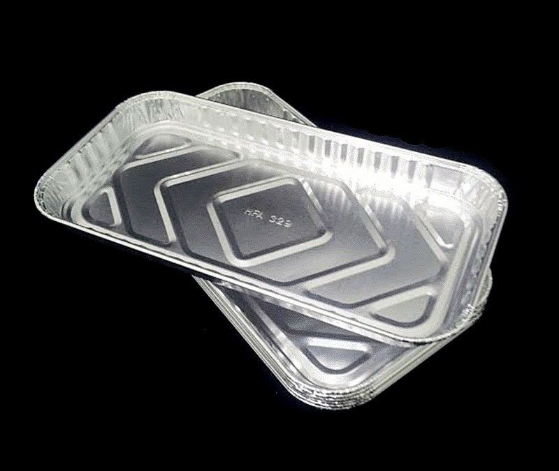 "Handi-Foil 10"" x 5"" Oblong Danish Pan 50/PK"