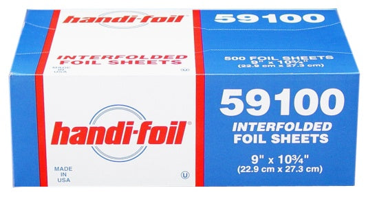 "Handi-Foil 9"" x 10.75"" Foil Pop-Up Sheets"
