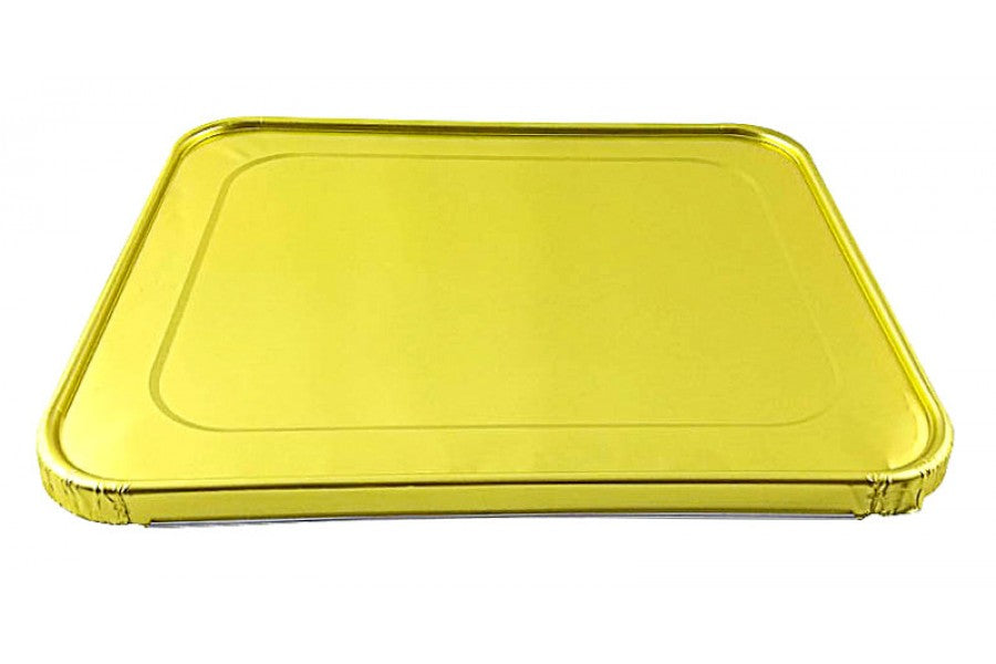 Handi-Foil Gold Lid for Half-Size Steam Table Pan 100/CS