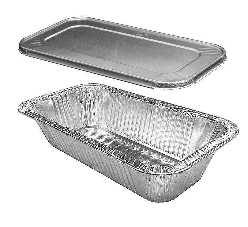 Handi-Foil Third-Size TruFit™ Steam Table Pan w/Lid Combo 100/CS