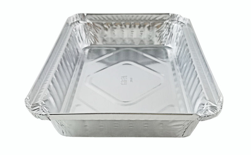 Handi- Foil 1 1 /2 lb. Oblong Shallow Foil Take-Out Pan