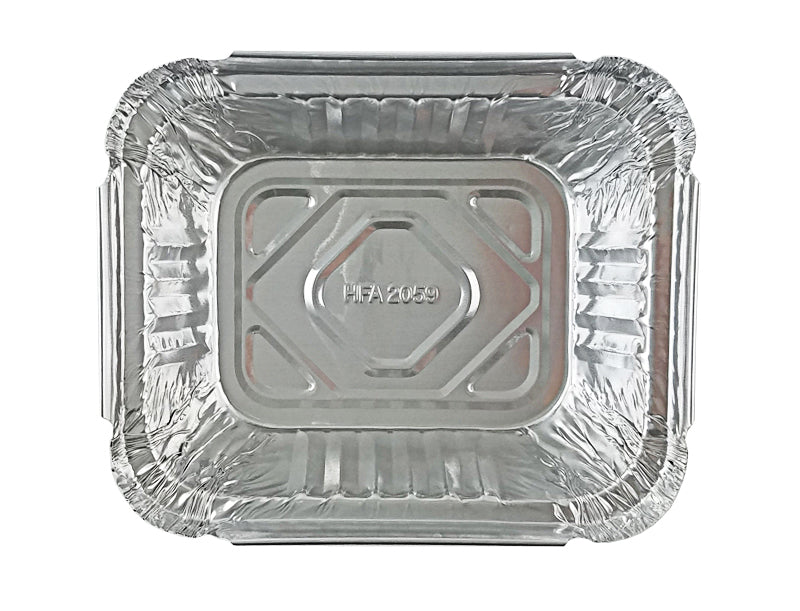 Handi-Foil 1 lb. Oblong Take-Out Foil Pan