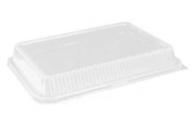 "Handi-Foil Clear Dome Lid for 13"" x 9"" x 2"" Cake Pan"