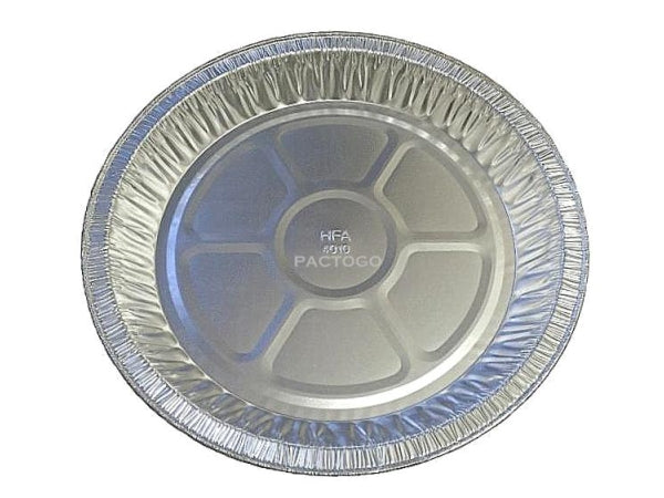 "HFA 10"" Medium Foil Pie Pan Plate"