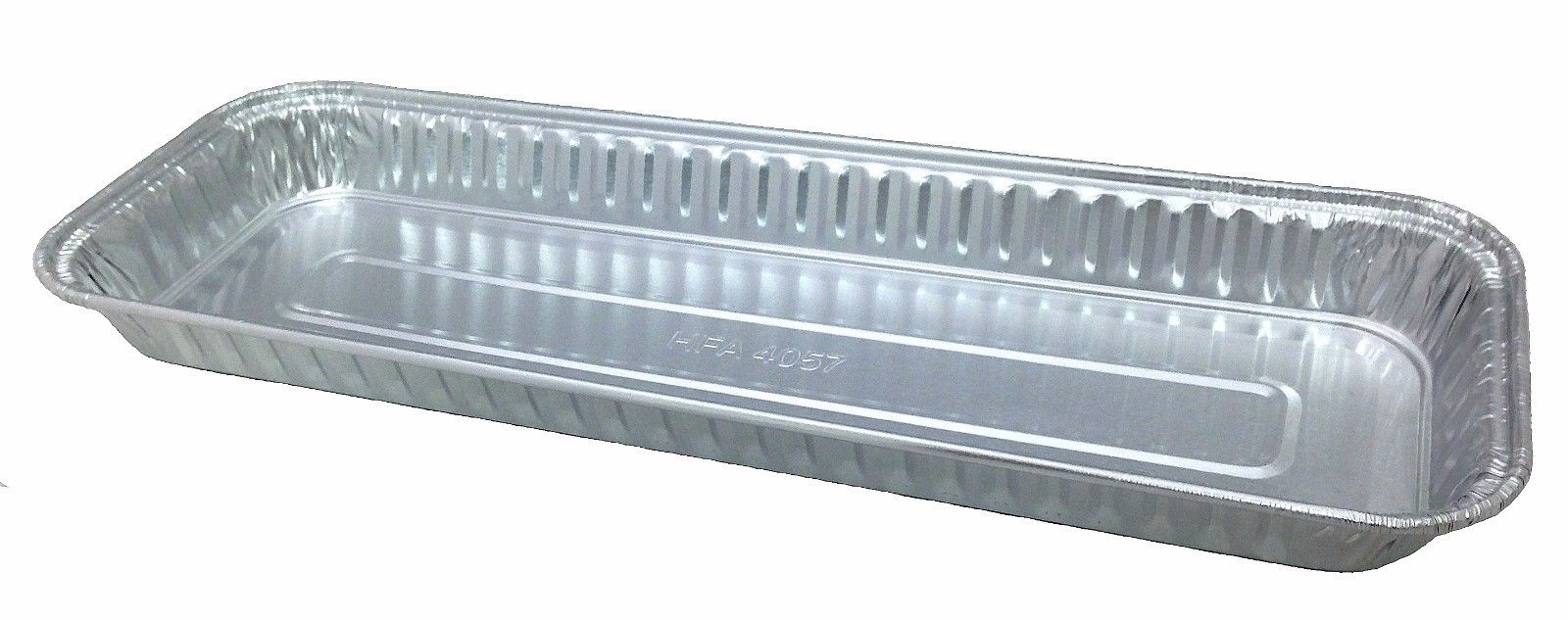"Handi-Foil 11"" x 4"" Oblong Danish Pan 200/CS"