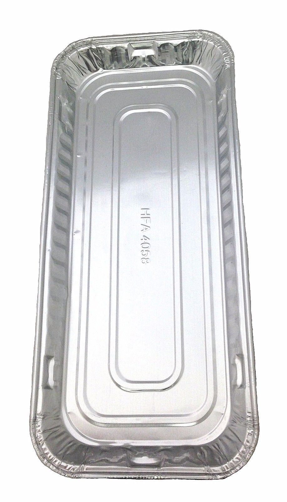 "Handi-Foil 11"" x 5"" Oblong Danish Pan 50/PK"